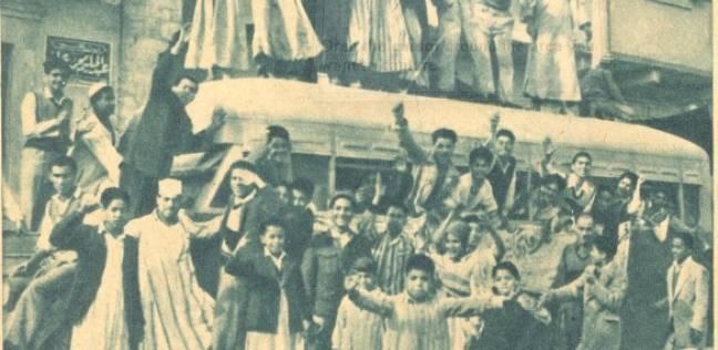 """بالصور  الطوابير والرقص أمام اللجان.. """"سلو الانتخابات بمصر من 68 سنة"""""""
