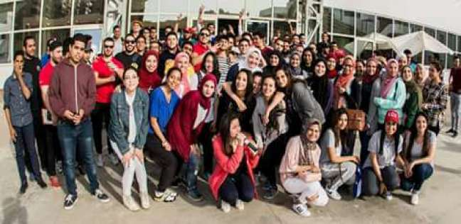 مهرجان رياضي لطلاب وأساتذة الجامعة المصرية الصينية