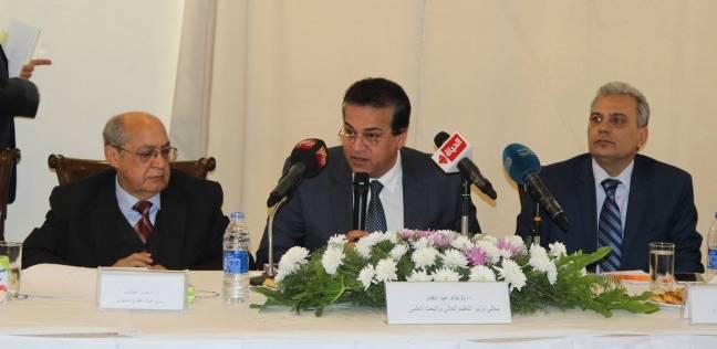 """شوقي: """"التربية"""" و""""التعليم العالي"""" يتعاونان لتطوير المدرس المصري"""