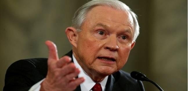 """وزير العدل الأمريكي: """"ترامب"""" يعدل المنظومة الأمنية لمواجهة الجريمة"""
