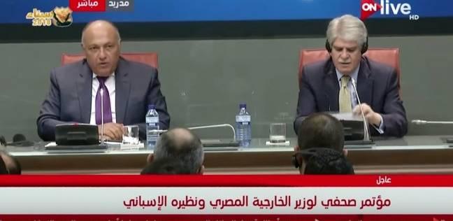 سامح شكري: المناطق الأثرية والسياحية في مصر آمنة تماما