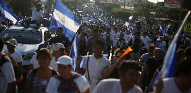 آلاف المتظاهرين يطالبون باستقالة الرئيس أورتيجا في نيكاراجوا