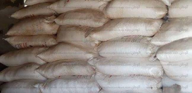 ضبط 60 طن ملح طعام مجهول المصدر في بني سويف