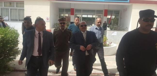 """بالصور  """"أمن دمياط"""" يرفع حالة الطوارئ استعدادا لانتخابات الرئاسة"""