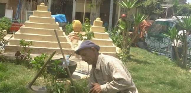 الانتهاء من تجميل ميادين وحدائق غرب الإسكندرية استعدادا لشم النسيم