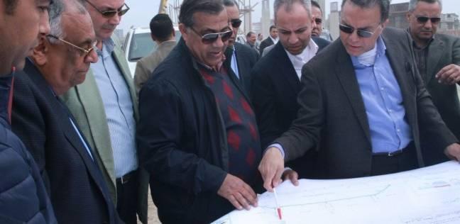 وزير النقل يتفقد الطريق الدائري الإقليمي