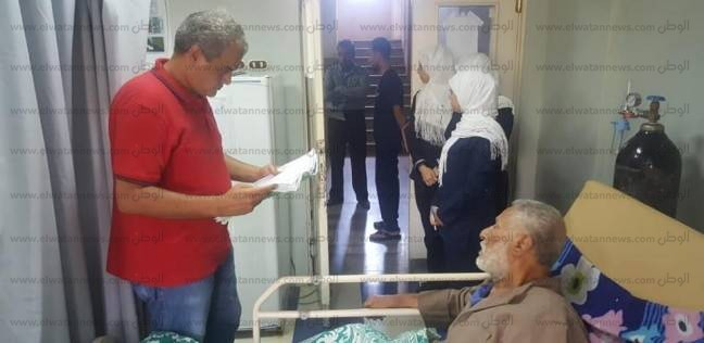 """مدير """"الطب العلاجي بجنوب سيناء"""" يتفقد مستشفى دهب المركزي"""