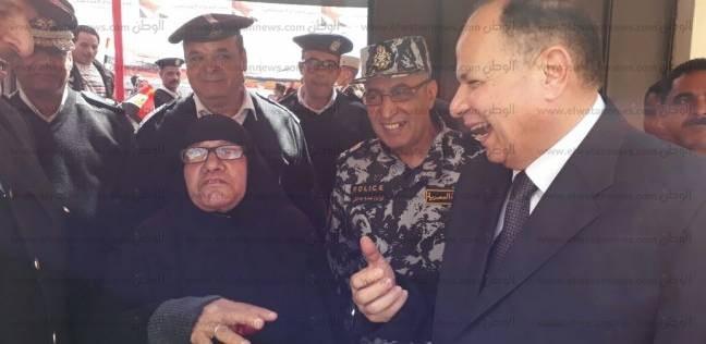 مدير أمن الجيزة يتفقد لجان الانتخابات الرئاسية بالمحافظة