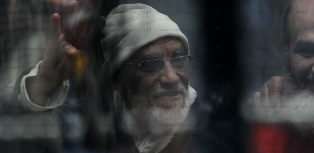 عاجل.. المؤبد لبديع والشاطر والبلتاجي وآخرين في قضية التخابر مع حماس