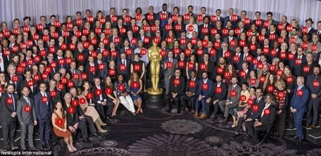 صور تذكارية لمرشحي أوسكار قبل حفل توزيع الجوائز