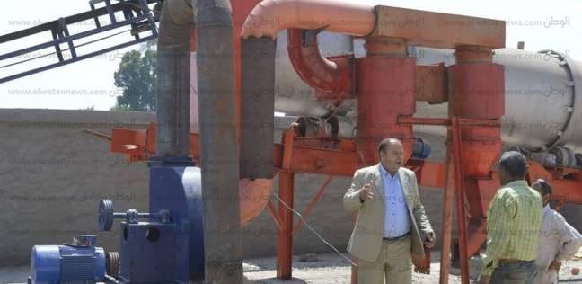 بالصور| رئيس مدينة كفر الشيخ يتفقد أعمال المرحلة الثانية من وحدة الرصف