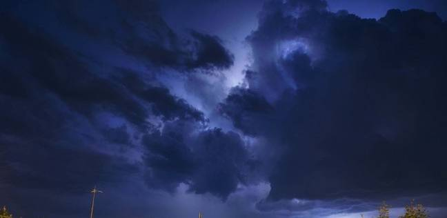 صورة طبيعية عجيبة للسماء في بريطانيا