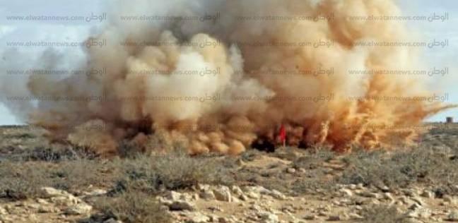 عاجل| مصرع شخص وإصابة آخر في انفجار لغم خلال حفر بئر مياه بمطروح