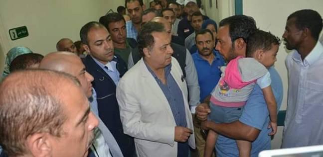 وزير الصحة يتجه إلى بورسعيد لتفقد الخدمة الطبية المقدمة للمرضى