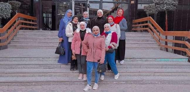 طلاب إعلام القاهرة أعضاء حملة التوعية بالجرائم الإلكترونية