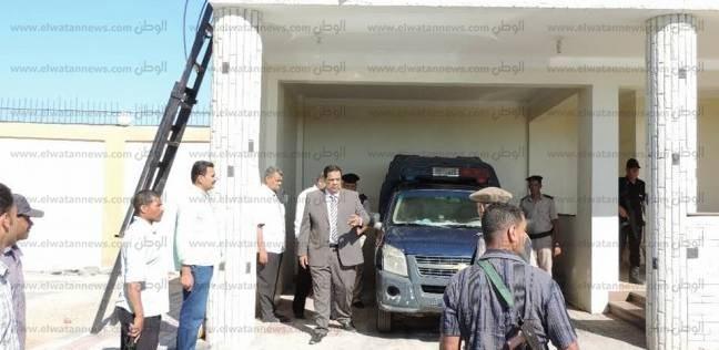بالصور| مدير أمن كفر الشيخ يتفقد التمركزات والنقاط الأمنية