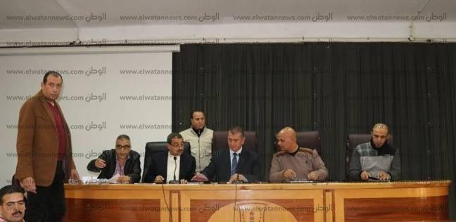 بالصور| محافظ كفر الشيخ يتراس لقاء المواطنين ويشدد على حل المشكلات