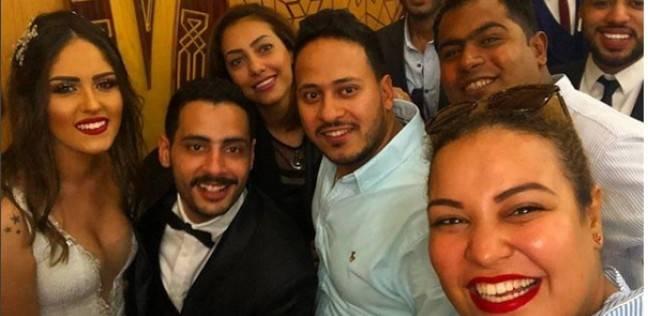 "أول فيديو من حفل عقد قران حامد الشراب نجم ""مسرح مصر"""