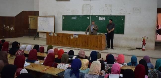 رئيس جامعة بنها يشدد على عدم رفع سعر الكتاب الجامعي عن العام الماضي
