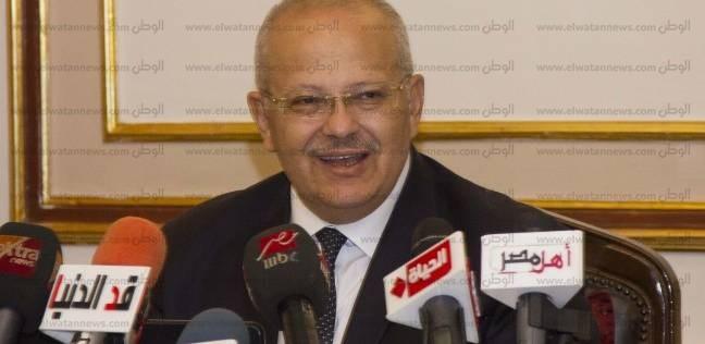 """عن استقالة عميدة """"إعلام القاهرة"""".. الخشت: تفسح المجال لدماء جديدة"""
