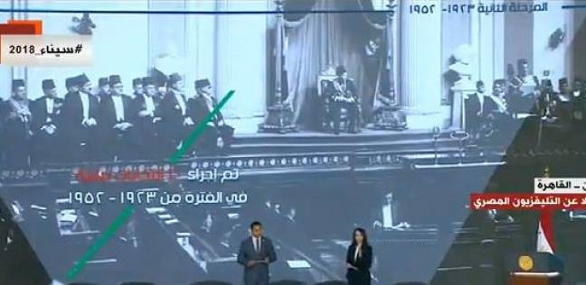 شباب البرنامج الرئاسي يستعرضون مراحل الحياة السياسية منذ عهد محمد علي