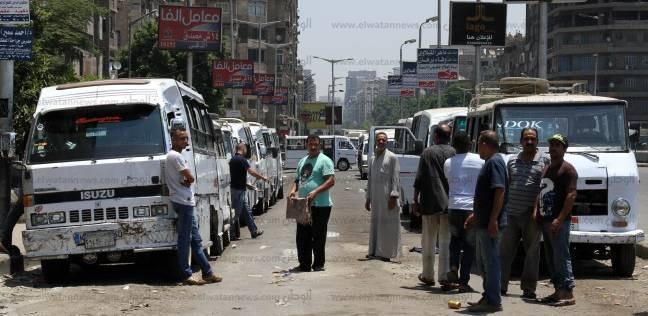 حملات مرورية في الإسكندرية لمنع تقسيم خط سير المواصلات