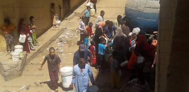 """قرى بـ""""بلقاس"""" يشتكون قطع المياه من أسبوعين: """"غسلنا الأضاحي من الترع"""""""