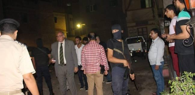 مدير أمن دمياط يتفقد الخدمات الأمنية بقرية الشعراء