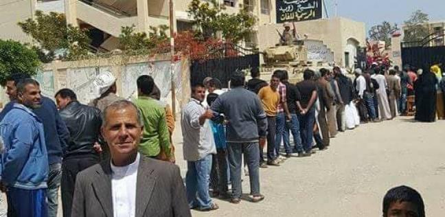 """منسق """"حملة السيسي"""" بالشيخ زويد: الإقبال كثيف.. والأعداد في تزايد"""