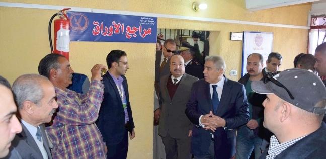 محافظ المنيا يفتتح وحدة مرور العدوة لخدمة المدينة و25 قرية