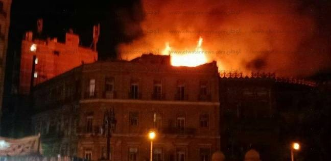 """النيابة تنتدب الأدلة الجنائية لتحديد أسباب حريق سبيل """"أم محمد علي"""""""