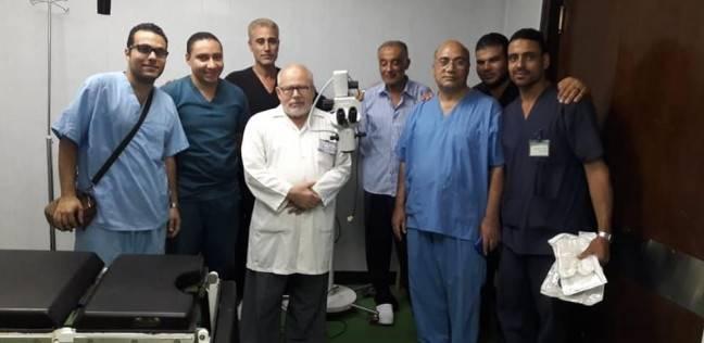بالصور| تجهيز أول قسم لطب وجراحة العيون بمستشفى نويبع المركزي