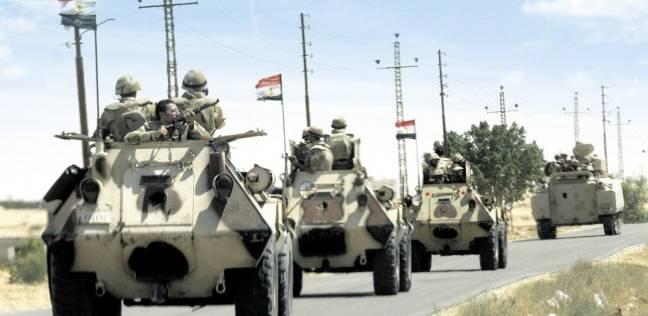 الجيش الثاني: ضبط وتدمير مزرعة لنبات البانجو المخدر بشمال سيناء