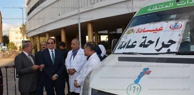 """""""صحة قنا"""": تشغيل العيادات الخارجية فترة مسائية بمستشفى نجع حمادي"""