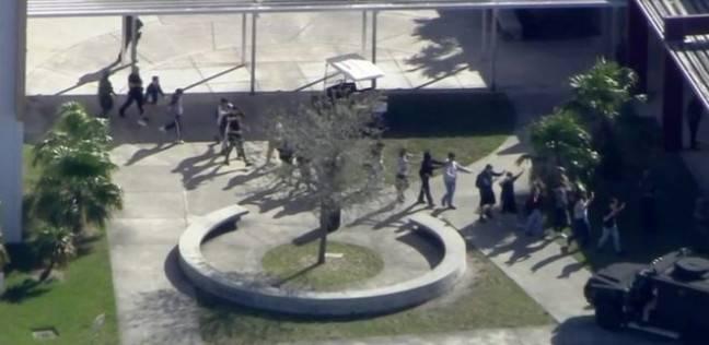 إطلاق نار في مدرسة في فلوريدا يوقع ما بين 20 و50 جريحا