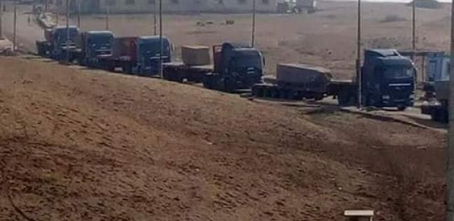 وسط حراسة أمنية.. نقل 3 مسلات من آثار صان لحجر خارج الشرقية