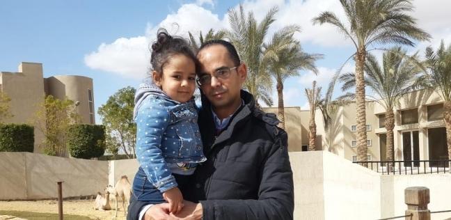 أحمد عبدالله وابنته جايدة