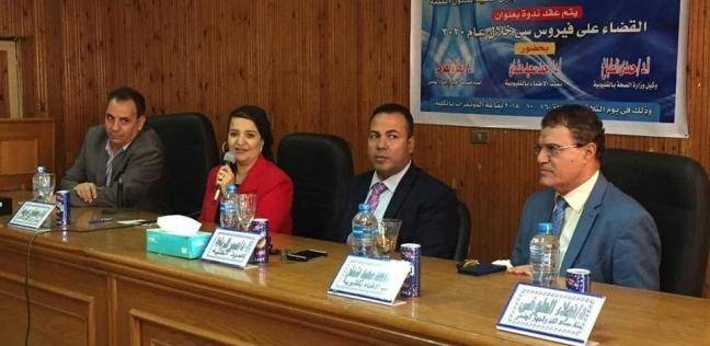 """مدير """"إعلام بنها"""": لولا مبادرة الرئيس لقضى """"فيروس سي"""" على كبد المصريين"""