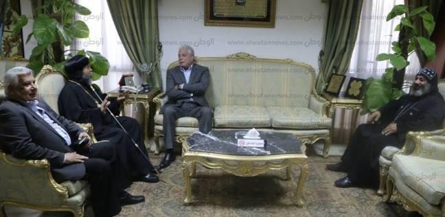أسقف سيناء الجنوبية يهنئ خالد فودة بتكليفه للمرة الخامسة