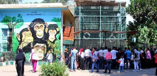 حديقة الحيوان في أول أيام عيد الأضحى