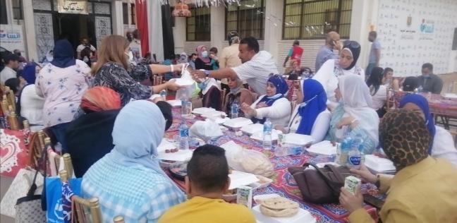 حفل إفطار جماعي للمشردين
