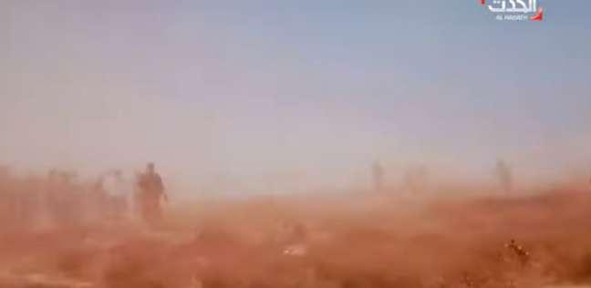 فيديو يوثق لحظة تفجير مقابر بنغازي