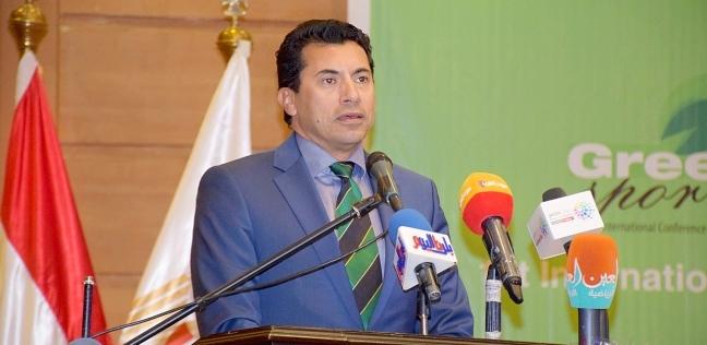 وزير الشباب يلتقي وزراء 4 دول لتبادل الخبرات على هامش منتدى أسوان