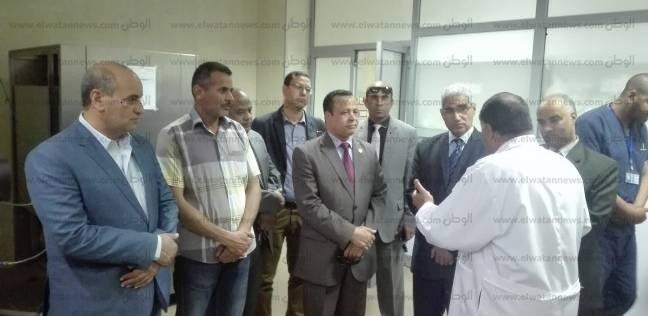 مستشفيات قنا الجامعية تستقبل قافلة بيت الزكاة والصدقات المصري