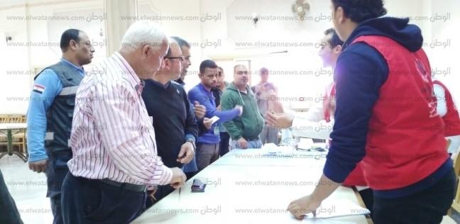 """إقبال كثيف على حملة """"100 مليون صحة"""" في شمال سيناء"""