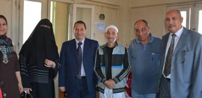 رئيس جامعة بورسعيد يزور دار مسنين لتأكيد المشاركة المجتمعية