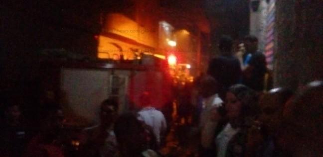 بالصور| تفحم جثتي طفلين في حريق هائل داخل شقة بالمحلة