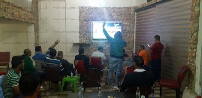 بالصور| اللبنانيون يحتفلون بصعود مصر لكأس العالم