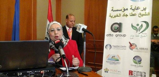 نادية مبروك تتابع خطط الإذاعة لتغطية الذكرى الخامسة لـ30 يونيو