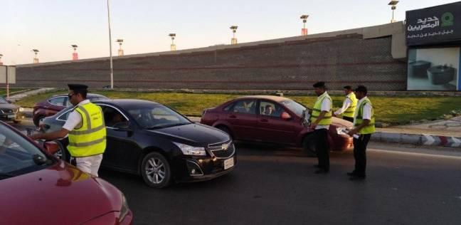 """""""مرور القاهرة"""" تكثف الخدمات المرورية لتسيير حركة السيارات"""